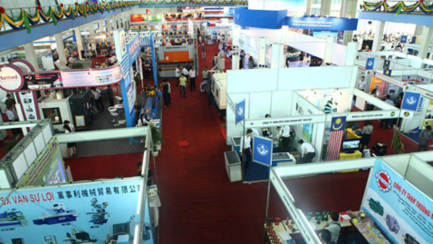 Hội chợ Quốc tế hàng công nghiệp Việt Nam 2008